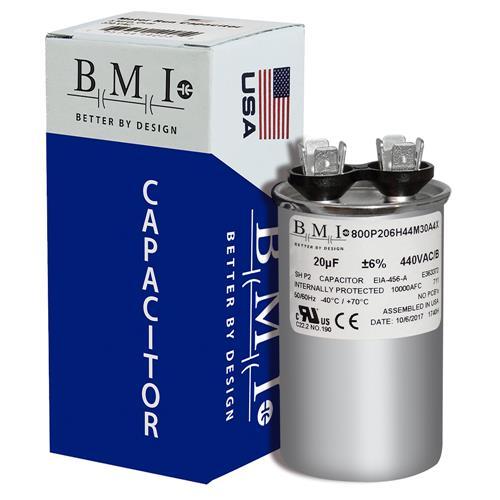 20 uf MFD 370 440 VAC ROUND Capacitor 12737 Replaces C320R C420R 97F9602 27L1054