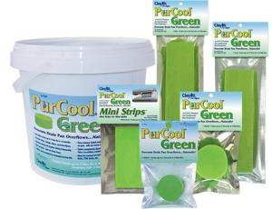 purcool green clenair pan strips